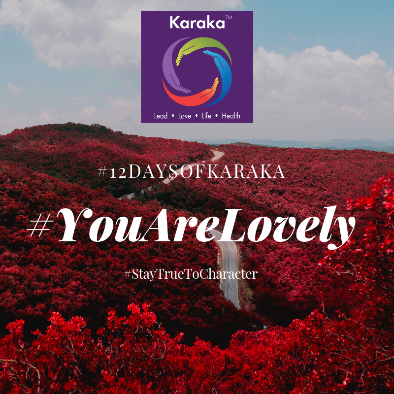 Welcome to the 4th day of the 12 days of Karaka #YouAreLovely campaign. We are sharing snippets of our method via the 4 pillars and will be campaigning with you for the next 12 days. Explore the Karaka lifestyle method exercises and share it with others. Make this your daily reminder that #YouAreLovely and enjoy getting an idea of how our Lifestyle method incorporates your true self when you LEAD, LOVE, conduct your LIFE and keep HEALTHY.  Day 4 - From our LOVE pillar workshops. Get comfortably seated on your Karaka Meditation Cushion. Sit with your legs crossed and when you think of your posture, mindfully think of it as you're opening your heart and have a strong back. The posture implies bravery, to sit in silence and it really just allows you to open your mind and heart to face the day. If you're a beginner, you can do this for 10 minutes and try it to start for 4 days. Recognizing that your mind will wander, and you will get back to your breath many times, embrace the practice and #StayTruetoCharacter. #YouAreLovely  #YouAreLovely #karakaleadyourself #karaka #karakabeforekarma #staytruetocharacter #authentic #authenticleadership #connection #leadership #collectivesignificance #4pillarsofkaraka #characterinlead #entrepreneur #mindfulness #mindfulleadership #mindfulconnection #meditation #meditate #beyou #bereal #karakamethod #corporatetraining #journaling #consciousleadership #sociallysignificantactions #executiveleadership #significantlife #makeconnections #lovehumanity #consciousliving #boston #bostonmindfulness
