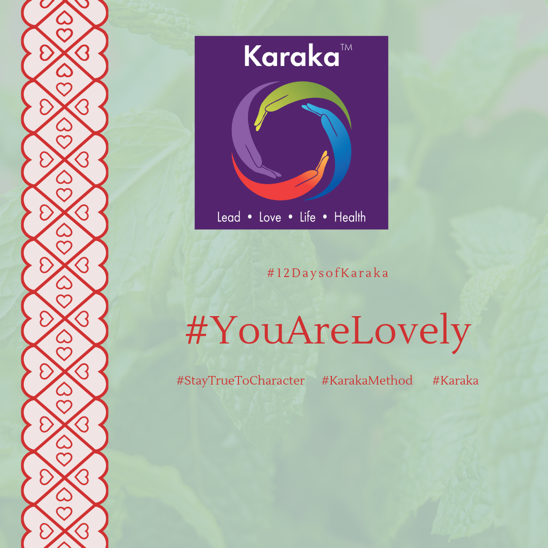Welcome to the 10th day of the 12 days of Karaka #YouAreLovely campaign. Explore the Karaka lifestyle method exercises and share it with others. Make this your daily reminder that #YouAreLovely and enjoy a glimpse of how our Lifestyle method incorporates your true self when you LEAD, LOVE, live your LIFE and keep HEALTHY.  Day 10 - From our HEALTH pillar workshops: During our Health workshops we share some recipes, and love it when someone suggests a non-routine herb, or flavor to change things up. Mint is one of those herbs, it is versatile and can be used in tea, salads, quinoa dishes, and some soups. From its aroma, all the way to its taste it is just yummy. Try it.  #YouAreLovely #karakaleadyourself #karaka #karakabeforekarma #staytruetocharacter #authentic #authenticleadership #leadership #collectivesignificance #4pillarsofkaraka #mind #healthy #entrepreneur #mindfulness #mindfulleadership #mindfulconnection #meditation #meditate #karakamethod #corporatetraining #journaling #consciousleadership #sociallysignificantactions #executiveleadership #significantlife #lovehumanity #consciousliving #characterandculturebydesign #boston #bostonmindfulness #12daysofKaraka