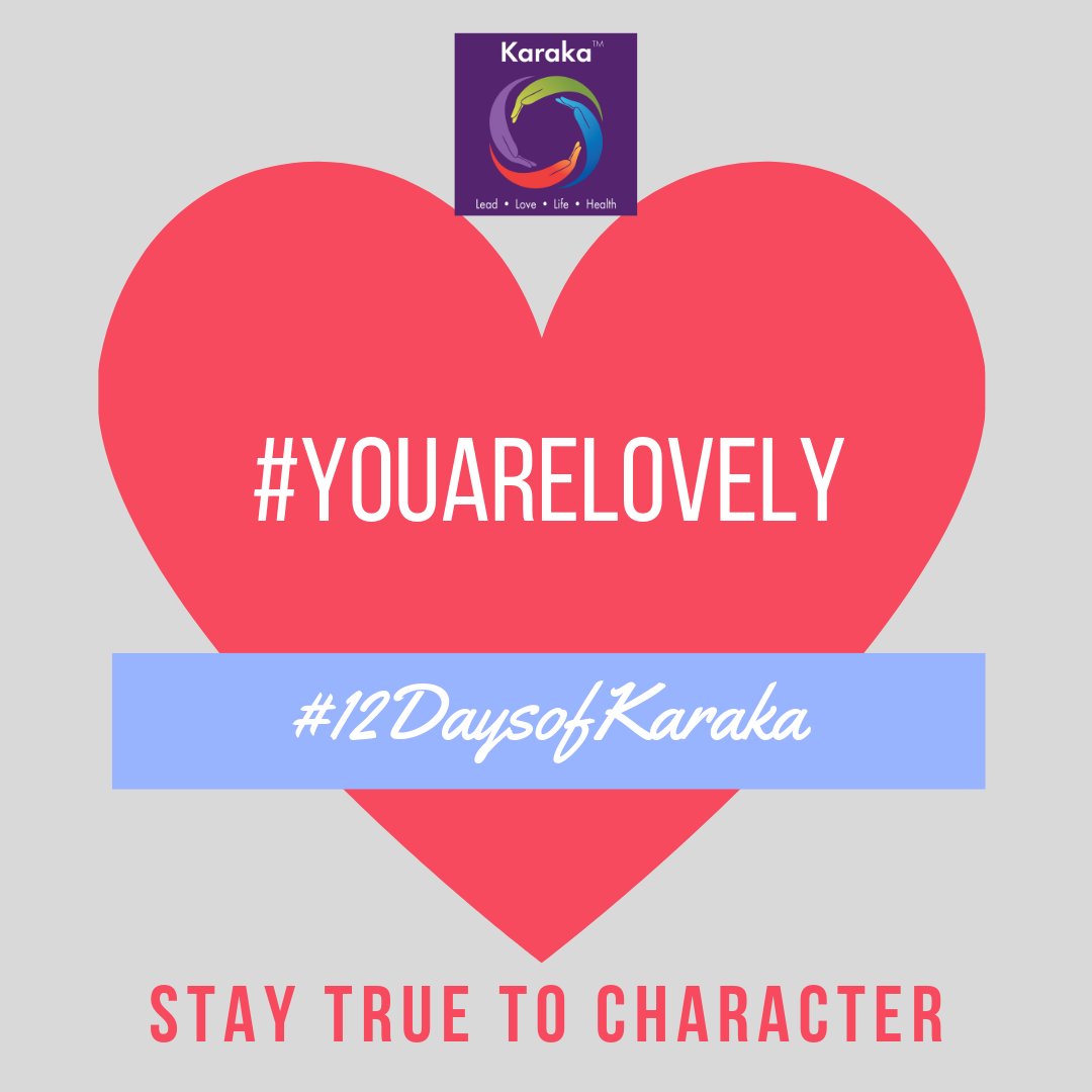 Welcome to the 11th day of the 12 days of Karaka #YouAreLovely campaign. Explore the Karaka lifestyle method exercises and share it with others. Make this your daily reminder that #YouAreLovely and enjoy a glimpse of how our Lifestyle method incorporates your true self when you LEAD, LOVE, live your LIFE and keep HEALTHY.  Day 11 - From our HEALTH pillar workshops: Part of staying in a Health routine includes partnering with a community or a group. There's value in working out with a group of like-minded individuals, coaches and friends. Not only will you get a good enthusiastic workout, you will also bond as a community and friendship.  #YouAreLovely #karakaleadyourself #karaka #staytruetocharacter #authentic #authenticleadership #leadership #collectivesignificance #4pillarsofkaraka #mind #healthy #entrepreneur #mindfulness #mindfulleadership #mindfulconnection #meditation #meditate #karakamethod #corporatetraining #journaling #consciousleadership #sociallysignificantactions #executiveleadership #significantlife #lovehumanity #consciousliving #characterandculturebydesign #boston #bostonmindfulness #12daysofKaraka