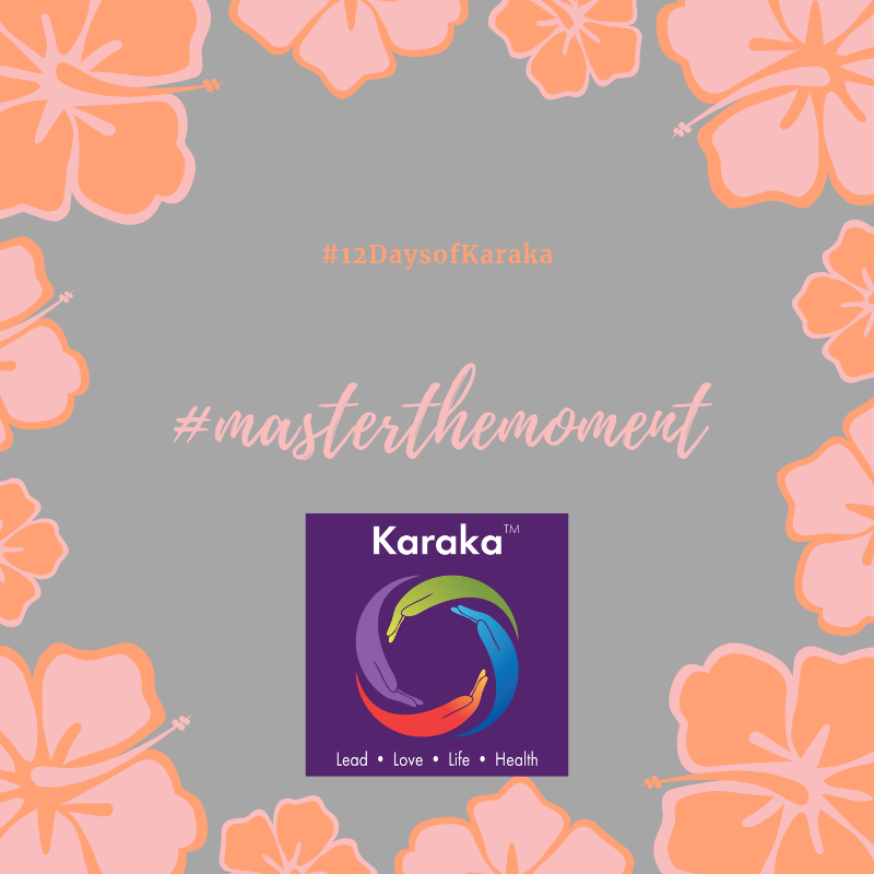 We are at day 3 of our 12 Days of Karaka  #MasterTheMoment  campaign. Today we will focus on our LIFE pillar. Mindfulness is the awakening of awareness in each moment to embody the moment itself. It is engaging the mind, body and spirit to recognize that we can give and receive in forms other than the exchange of objects. Our breath is key in simplifying this notion of giving and receiving in the form and source of an invisible source. Therefore,  #MasterTheMoment  to give and receive even when sometimes it may appear as if you are doing neither, sometimes it's just by being wholly present or giving by listening. Things can be silently present in our lives, yet have a huge meaning to its significance.  www.karakagroup.com