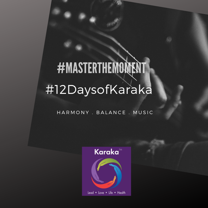 "Welcome to day 7 of our 12 days of Karaka #MasterTheMoment campaign. In our LIFE pillar workshops, we draw parallels with words to impress upon our Collective Significance theory. Harmony is one of those words. When music is not harmonious, even a second/moment of lack of harmony breaks the musical flow apart. Now, take this notion and parallel apply it to your mind, body and spirit. What happens when our mind, body and spirit are not ""harmonious""? Do you think it impact you? Understand what sets you in balance, and master it. The answer lies in the moments when you feel aligned with your true SELF.  #12DaysofKaraka #Karaka #KarakaLEAD #MasterTheMoment #WholeBeing #Music #Harmony #CollectiveSignificance #SociallySignificantActions #Consciousness #Mindfulness #AuthenticLeadership #KarakaMethod #KarakaLifestyle #StayTrueToCharacter #MindfulMoment #BostonMindfulness #NewEngland #Wellness #Leadership #4PillarsofKaraka #KarakaLEADYourself #BalanceIntegration #Balancein4s #BalancedLifestyle #meditate #balance #joy #relationship #resilience #connection #authenticity #visionary"