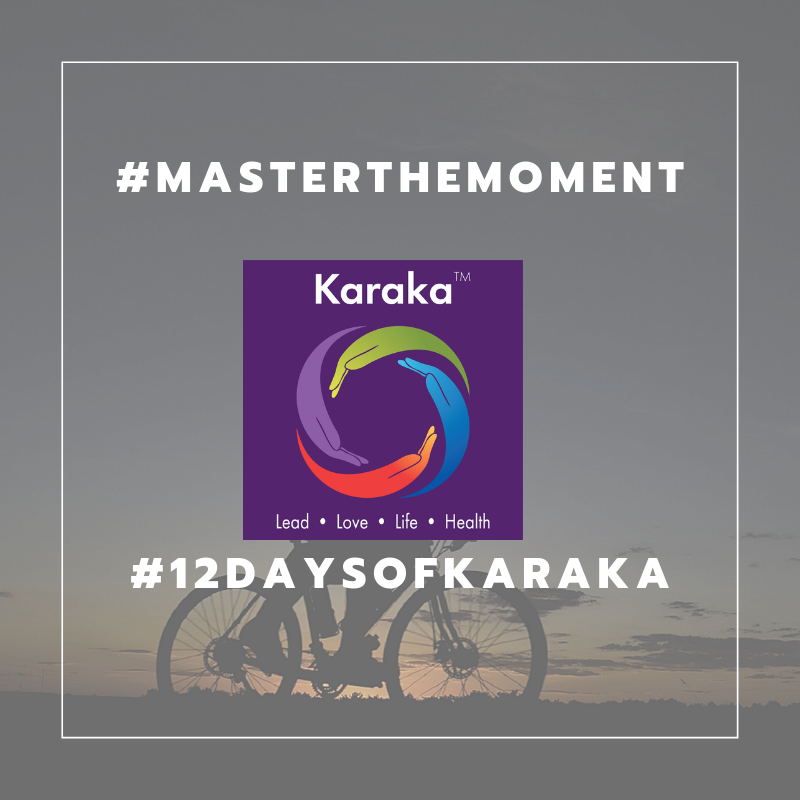 It is day 9 of our 12 days of Karaka #MasterTheMoment campaign. Wellness is a commitment. Therefore, similar with many of our commitments we have to dedicate time to achieve the results. Every moment of our days can be filled with something we do and want to accomplish. Therefore, as part of our HEALTH goal, in our journey to achieve balanced healthy habits, let's integrate some moments in our days where we make conscious choices, such as sticking to a schedule, creating an electronic downtime, establishing a ritual, clearing our mind and meditating in order to get closer to our HEALTH goals.  #12DaysofKaraka #Karaka #KarakaLEAD #MasterTheMoment #WholeBeing #CollectiveSignificance #SociallySignificantActions #Consciousness #Mindfulness #AuthenticLeadership #KarakaMethod #KarakaLifestyle #StayTrueToCharacter #MindfulMoment #BostonMindfulness #NewEngland #Wellness #Leadership #4PillarsofKaraka #KarakaLEADYourself #BalanceIntegration #Balancein4s #BalancedLifestyle #meditate #balance #joy #relationship #resilience #connection #authenticity #visionary