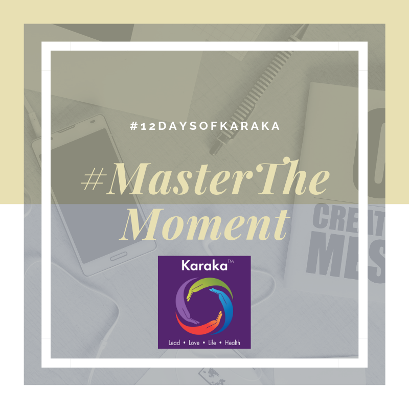 Welcome to  day 10  of our 12 days of Karaka #MasterTheMoment campaign. In our LEAD pillar we talk about decisions and accountability. We all face decisions throughout the day, some of them are easier to make and more clear, others tend to be a bit on the hesitant side. It is normal to feel indecisive at times and maybe that indecisiveness comes from self-doubt, or really not knowing which is the better decision to make. At the end, we will make the decision in the moment whether it is right or wrong won't know it, until the next time we encountered an outcome of that momentous decision. We still have to make it. Regardless, the difference in leadership authenticity comes by holding accountable for the momentous decision   #12DaysofKaraka #Karaka #KarakaLEAD #MasterTheMoment #WholeBeing #CollectiveSignificance #SociallySignificantActions #Consciousness #Mindfulness #AuthenticLeadership #KarakaMethod #KarakaLifestyle #StayTrueToCharacter #MindfulMoment #BostonMindfulness #NewEngland #Wellness #Leadership #4PillarsofKaraka #KarakaLEADYourself #BalanceIntegration #Balancein4s #BalancedLifestyle #meditate #balance #joy #relationship #resilience #connection #authenticity #visionary