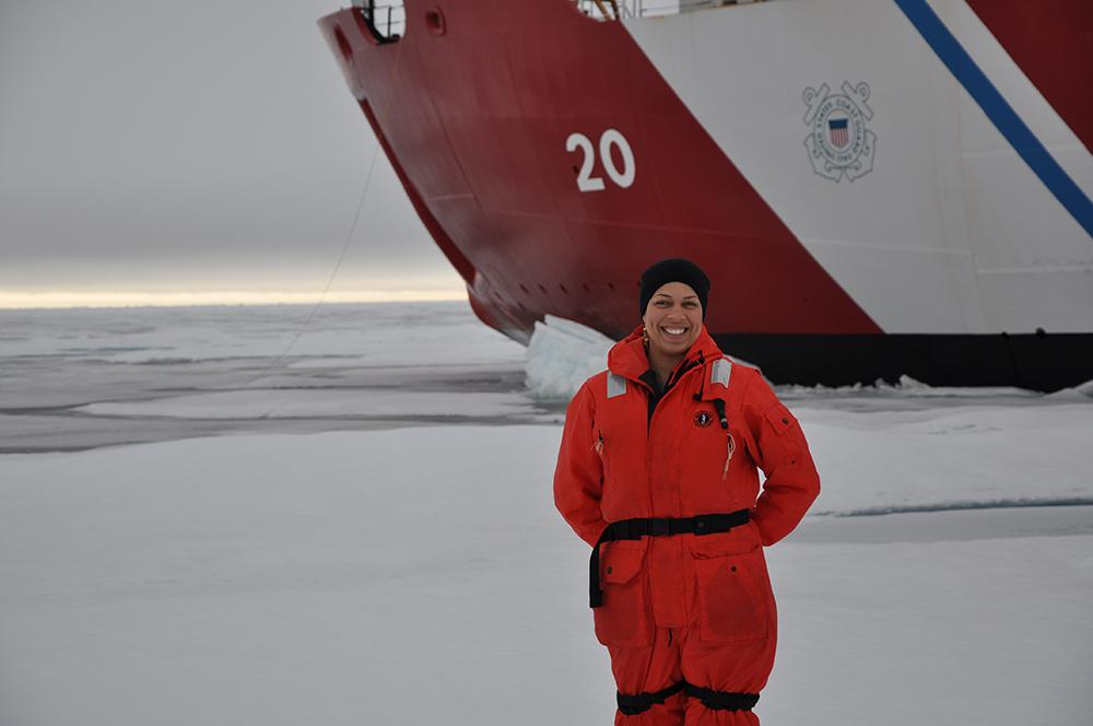 The USCG Healy - Icebreaker