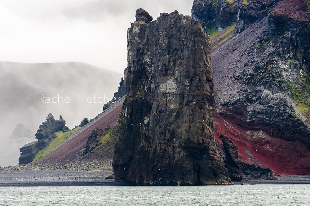 The volcanic island, Jan Mayen