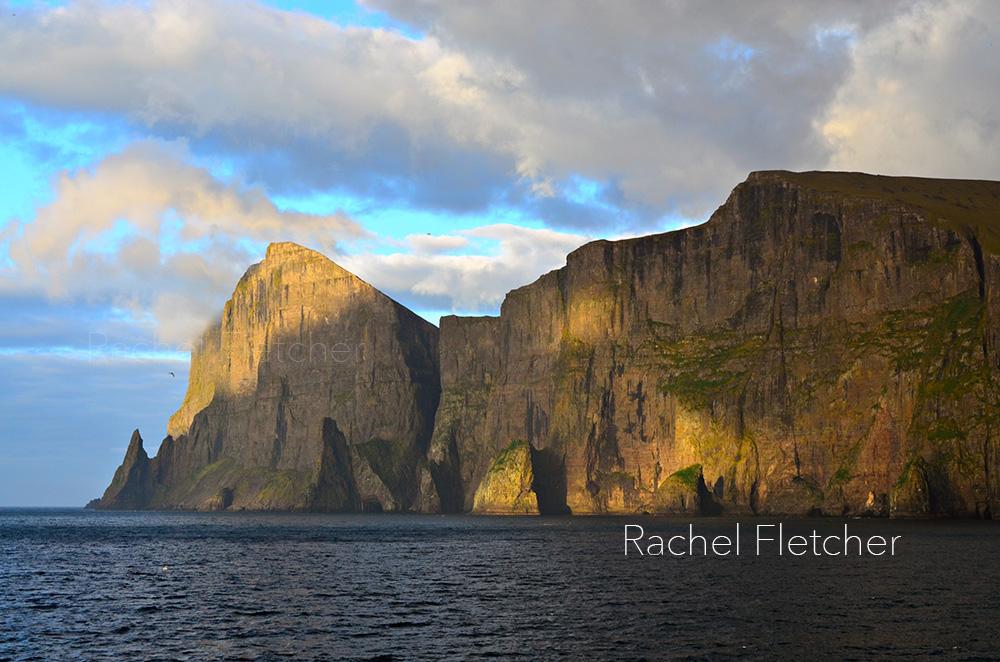 Sea stacks in the Faroe Islands