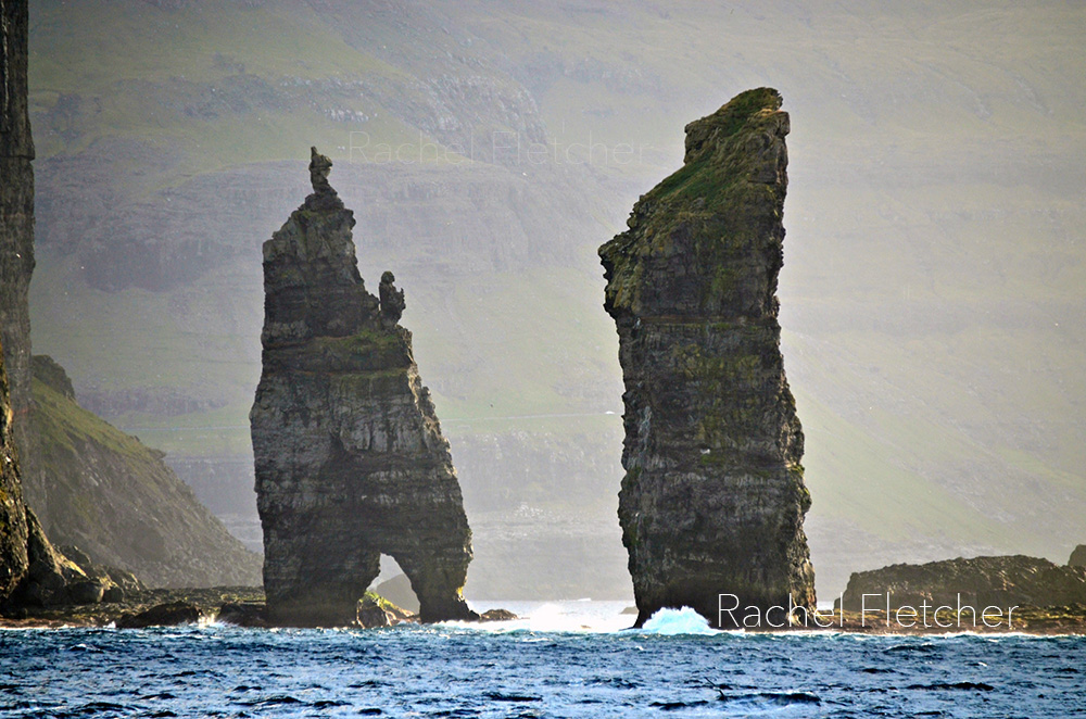 Risin & Kellingin - Sea stacks in the Faroe Islands