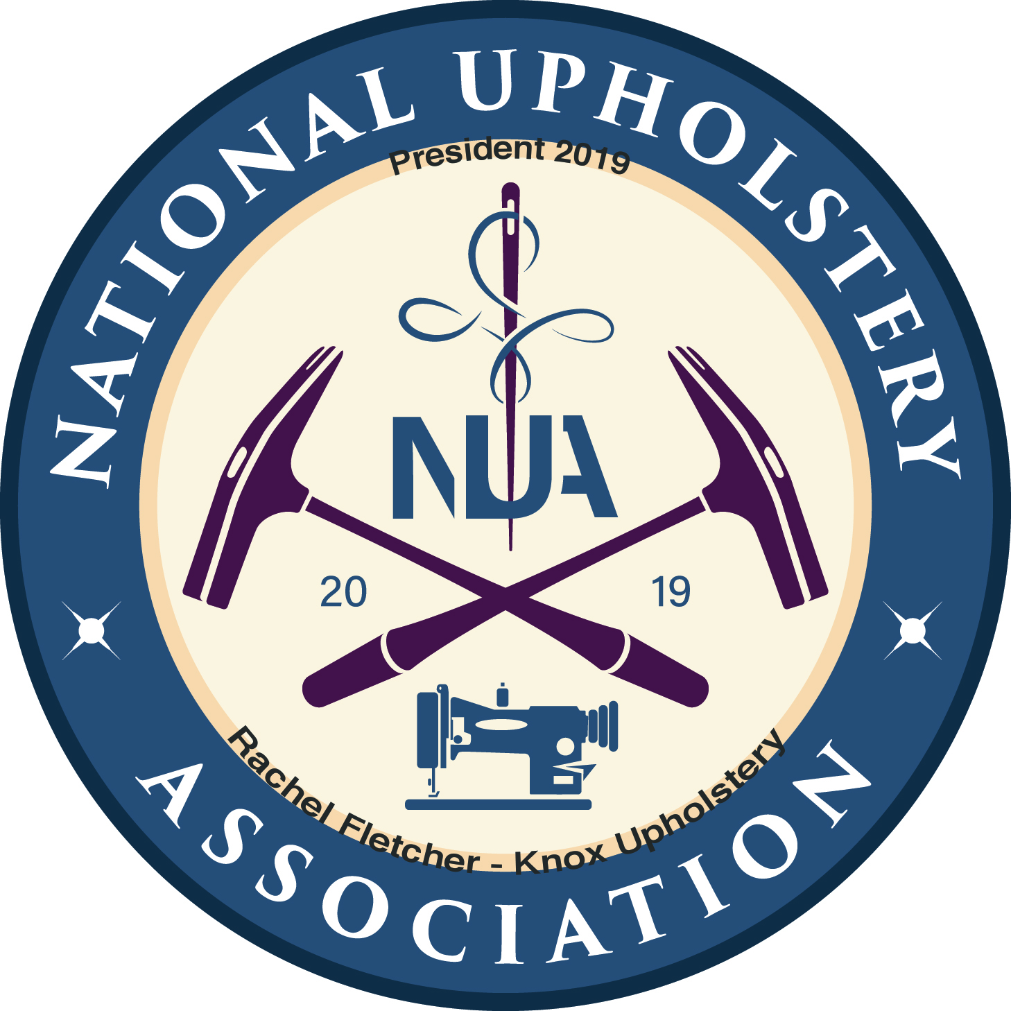 Rachel Fletcher was voted in as the founding President of the National Upholstery Association on March 6, 2019.