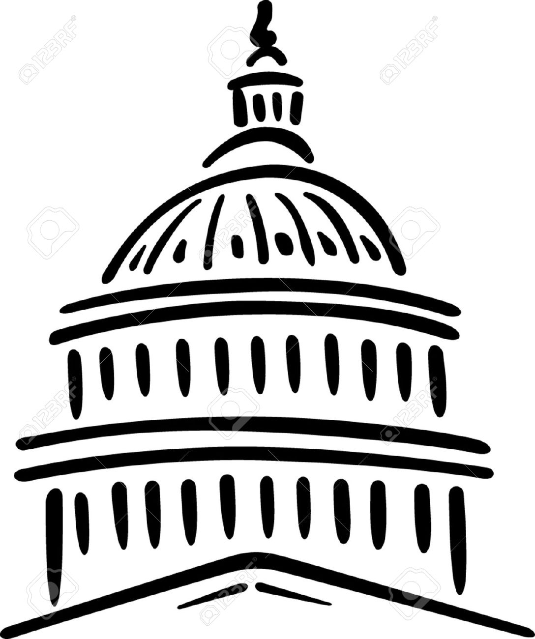 22152720-Illustration-of-the-U-S-Capitol-Washington-D-C--Stock-Vector-building.jpg