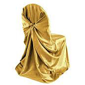 Gold Pillow Chair Cover   Call to Reserve