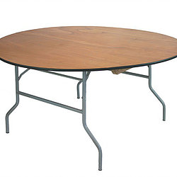 Rectangle table available in different sizes.    Call to Reserve