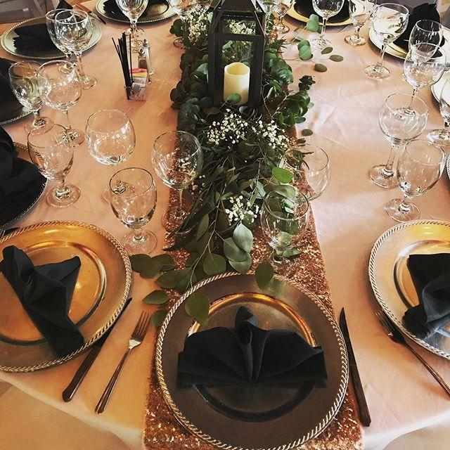 Wedding setup at @losportalesvenue !  #wedding #decor #floral #weddingplanner #elpaso #915 #newmexico