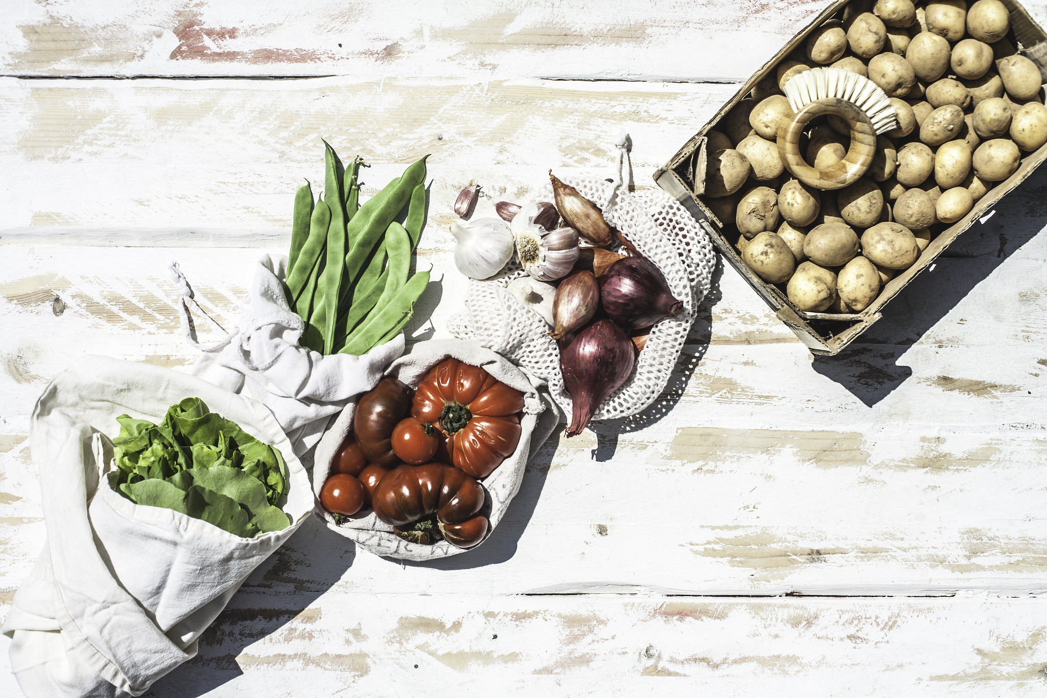Wash your own veggies, they are cheaper and chemical free!  Ugly fruit and vegetables taste great but usually end up being tossed, show them some love!