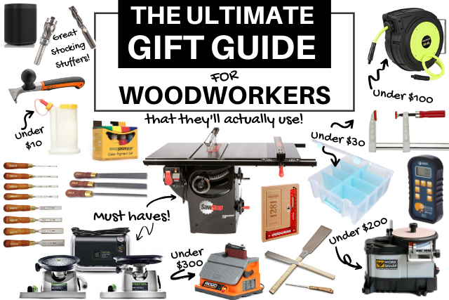 The Best Gifts For Woodworkers Gift Guide 2020 Blacktail Studio