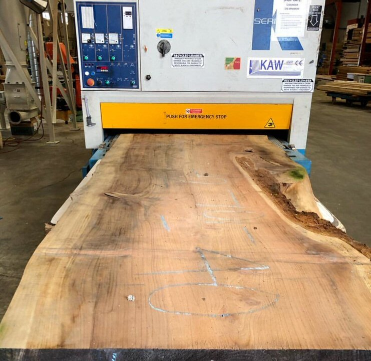 Three Ways To Flatten Your Slab And Which Is Best Blacktail Studio - Best Wood To Make A Live Edge Table