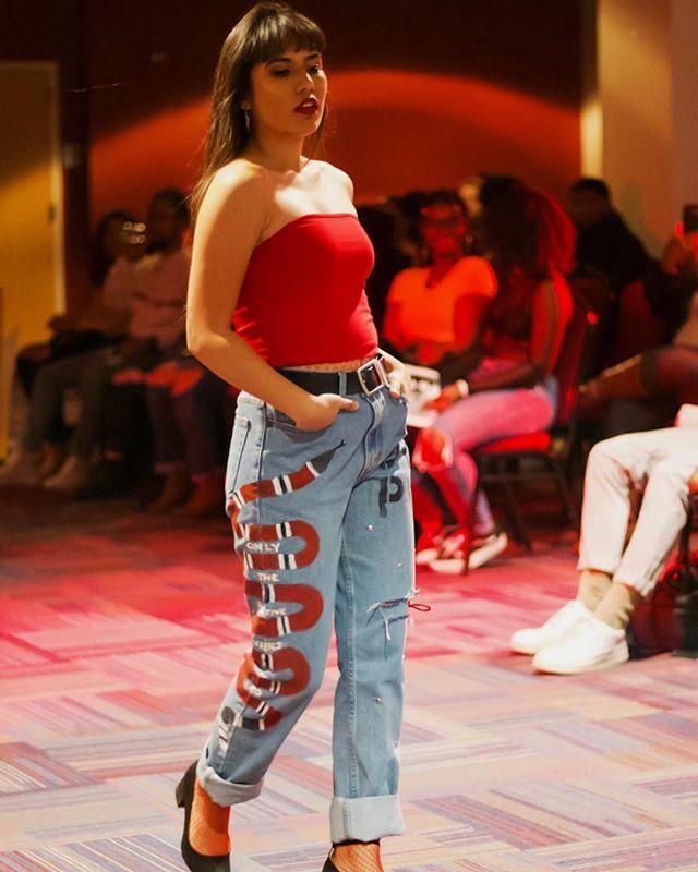 BSU: THE BLVCK PRISM x OTPV  Fashion Show 2019  Model: Joely   📸: @josiahtpuccio