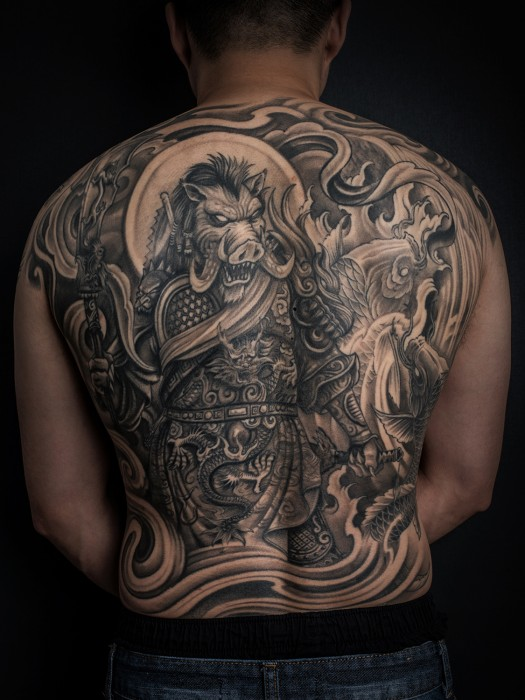 Asian Style Tattoo by Winson Tsai