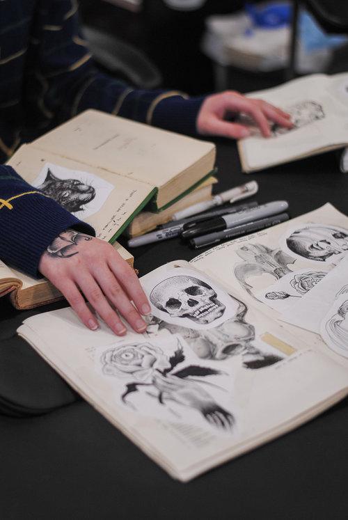 Katt is a blackwork tattoo artist in Toronto