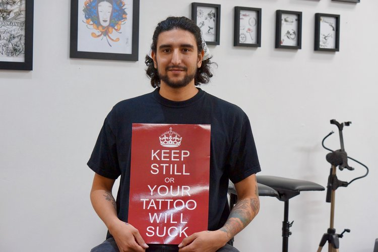 CT is a watercolour tattoo artist in Toronto. Find him on pick the ink. @ct_tattoo