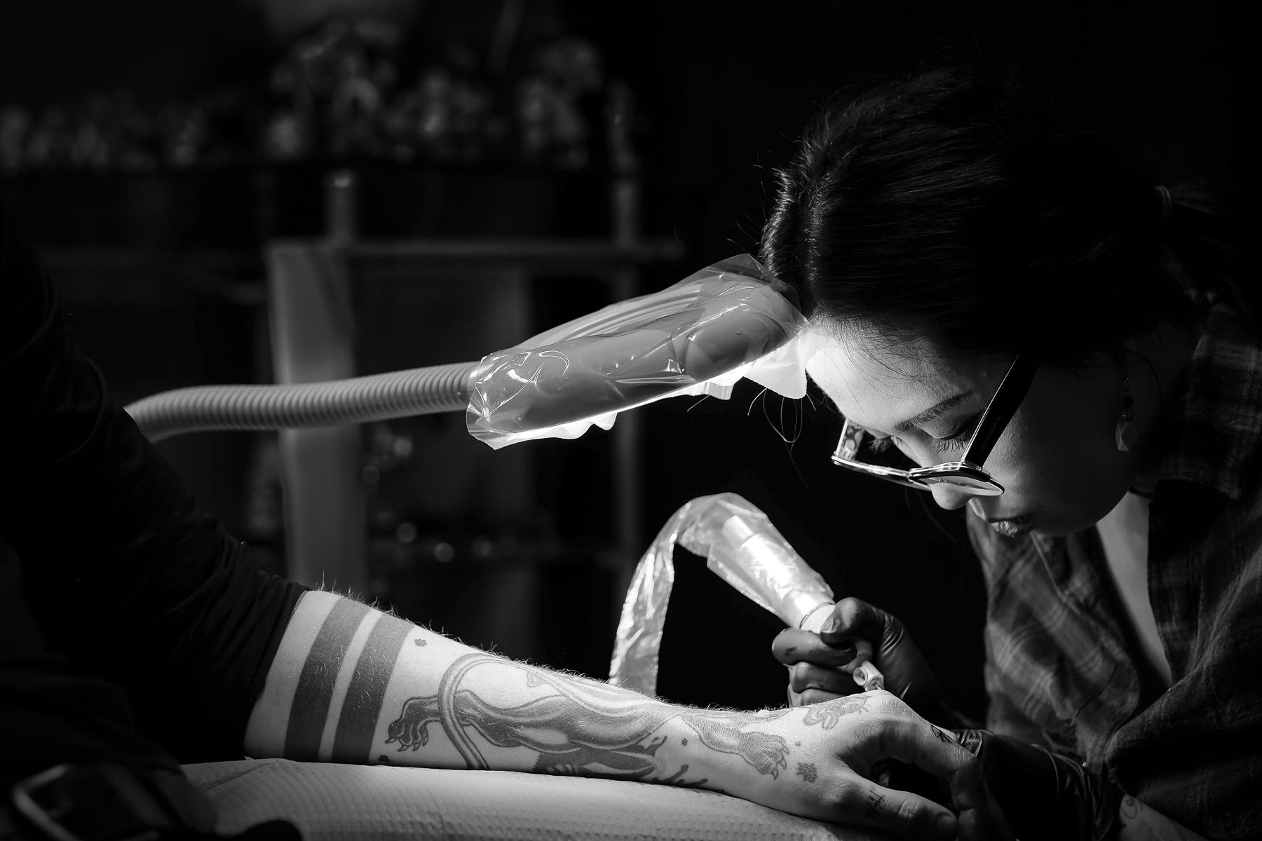 Reny Tattoos is Toronto's best tribal tattoo artist