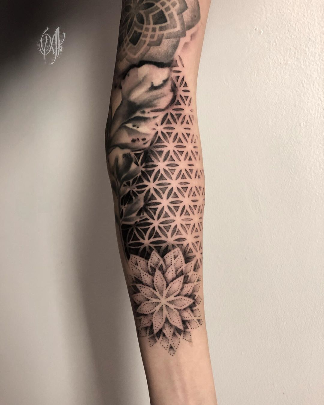 Mandala tattoo by Alveno