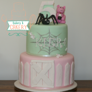 Charlottes Web Birthday Cake