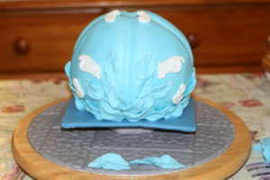 cinderella-carriage-cake-fondant-covered