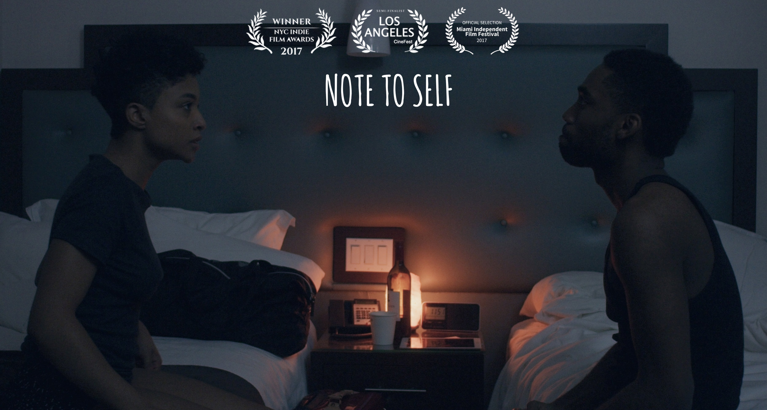 Copy of Award-winning short film, Note to Self
