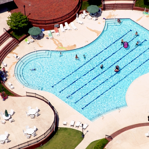 Poolside at River Landing -