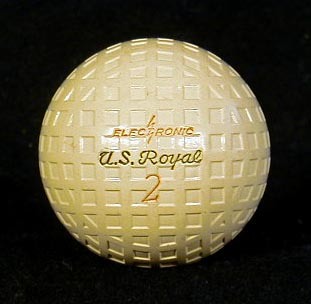 Golf Ball from the 1920s.