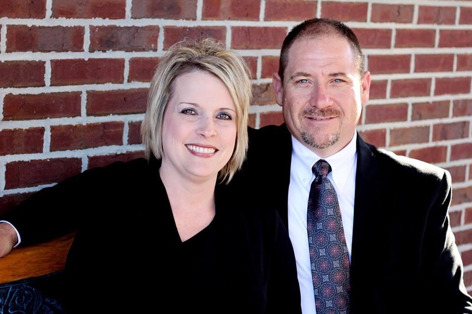 Pastors Tommy and Tara Giddens -
