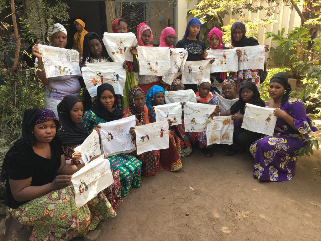 Sister Artists in Mali