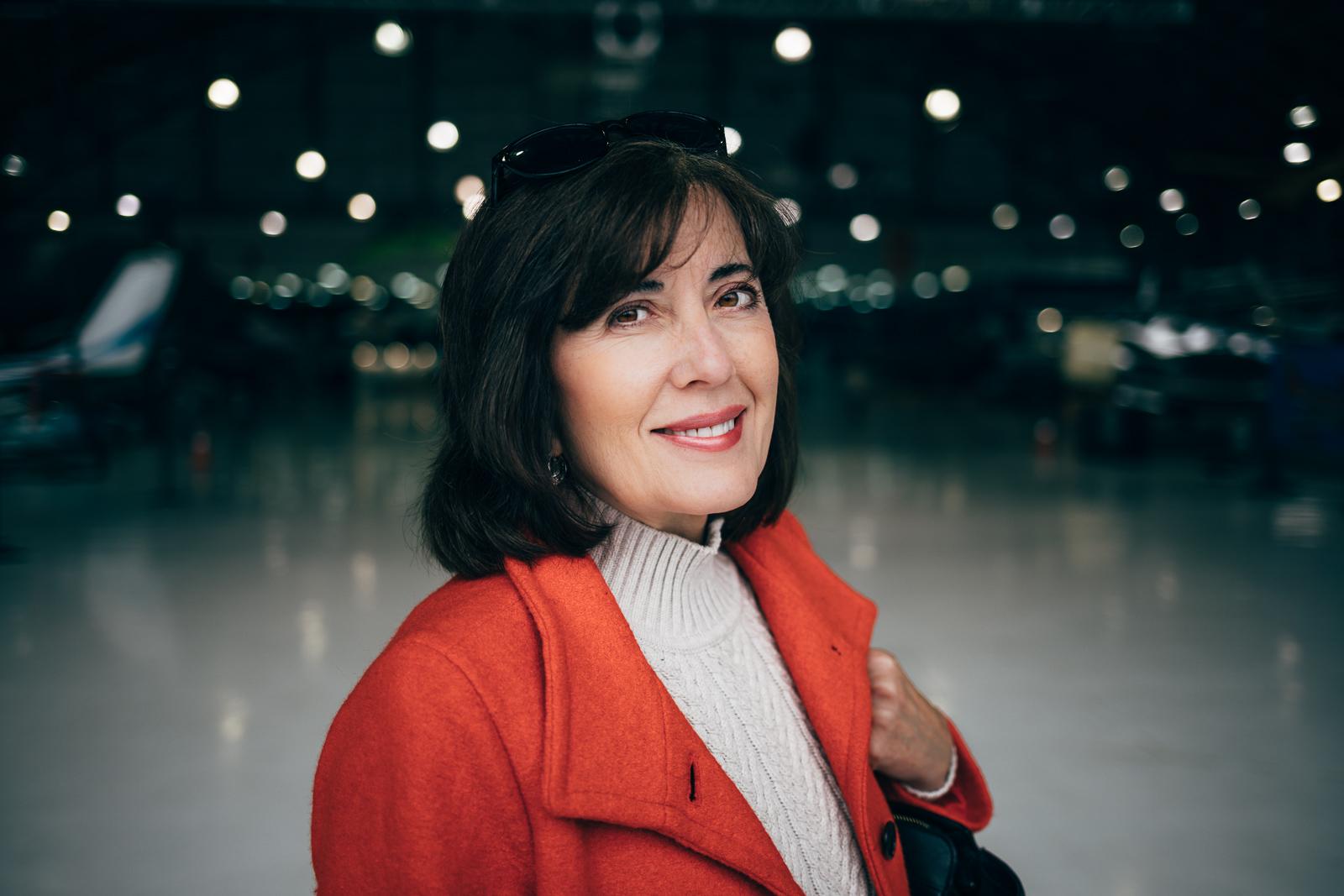 Margo, my mom. A communications teacher.