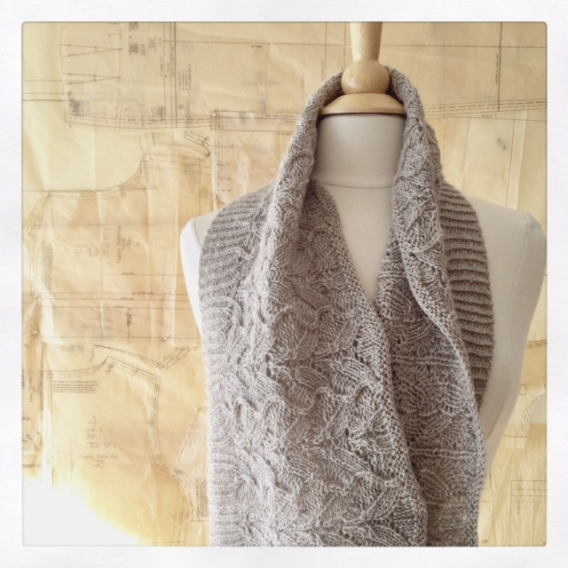 Waverleigh Cowl by Bonnie Sennott - pattern coming in early January