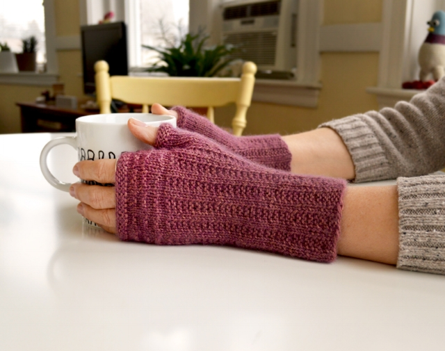 Pattern:  About Town Mitts