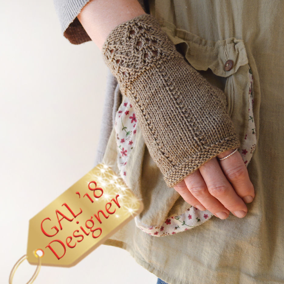 Fee-bee Mitts by Bonnie Sennott
