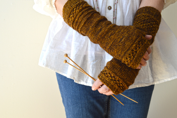 On the Other Hand Mitts, by Bonnie Sennott