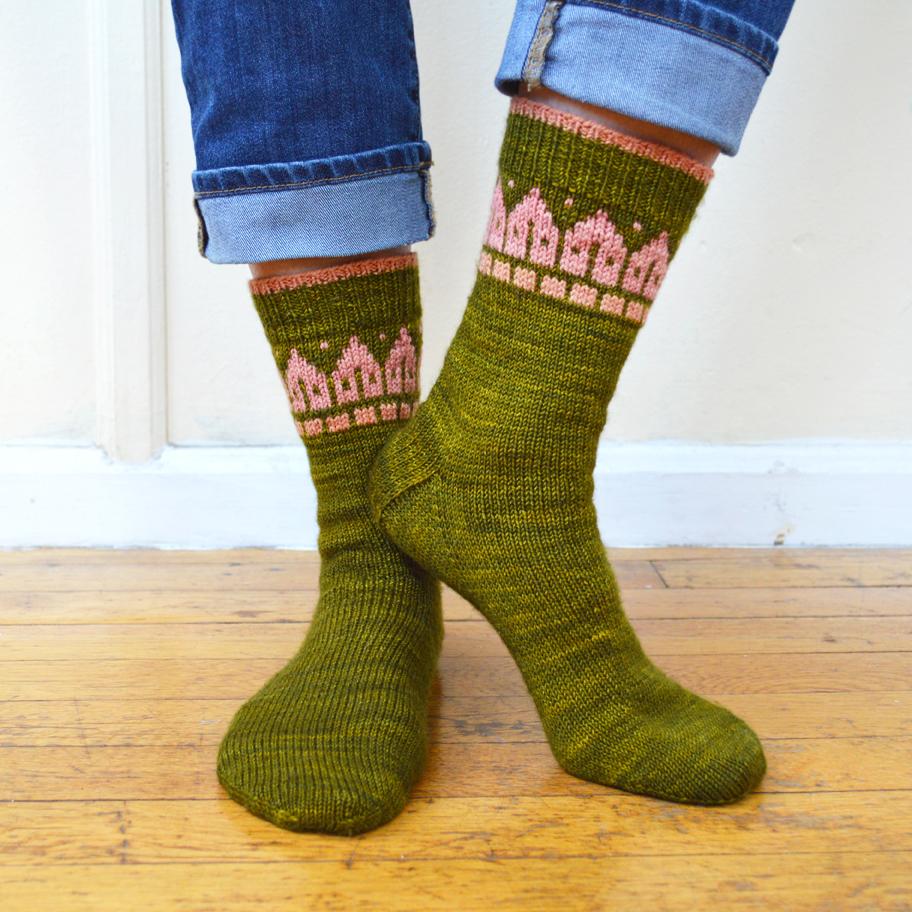 Rowhouse Socks