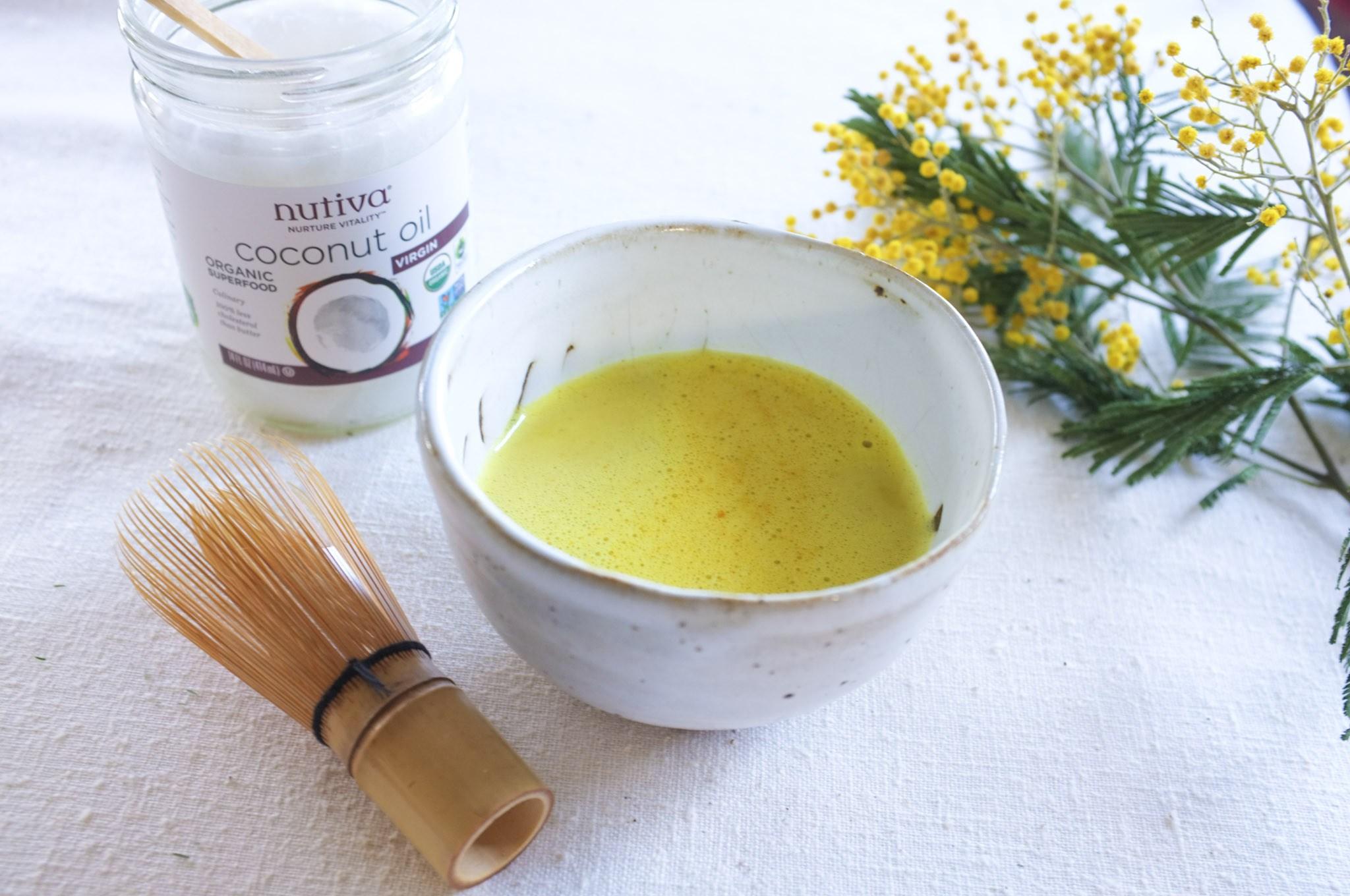 Nutiva - Golden Milk + Protein Pesto Recipe Collaboration