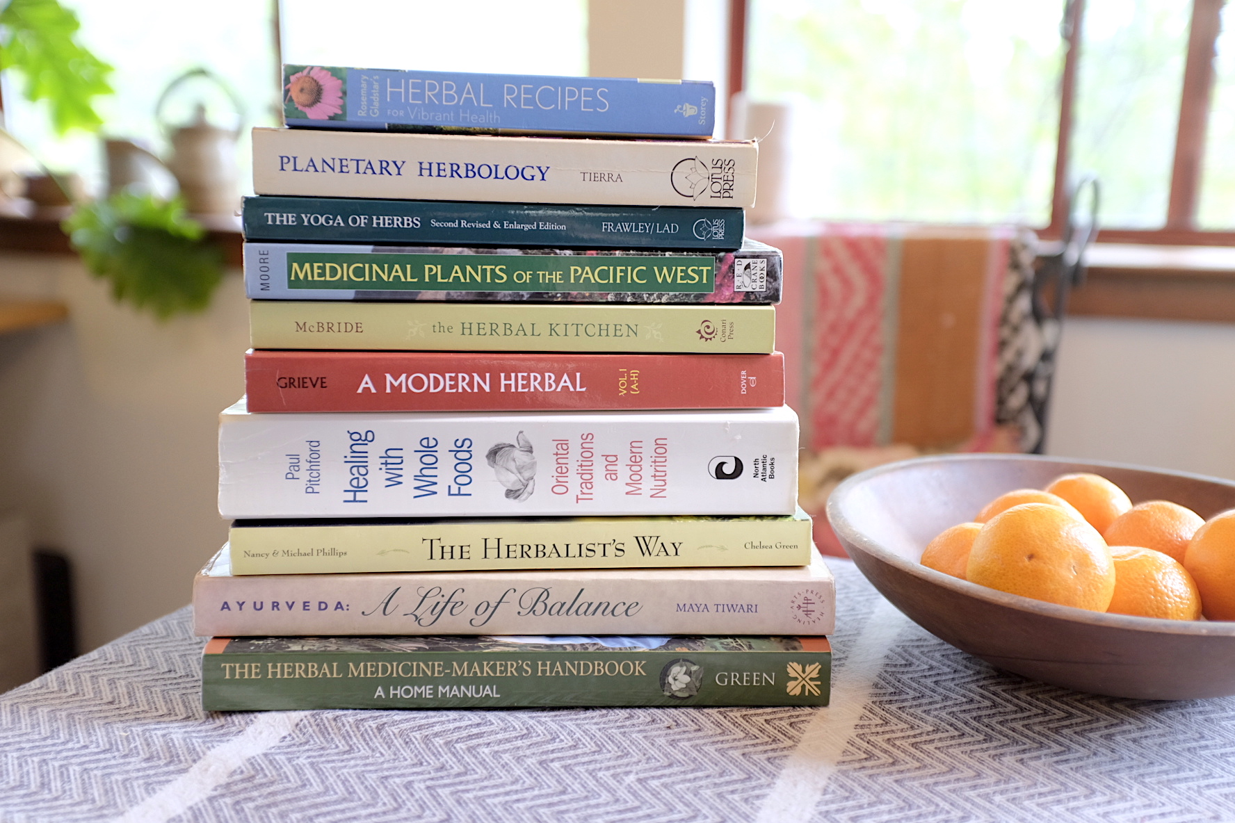 10 Herbal Books for the Home Apothecary -
