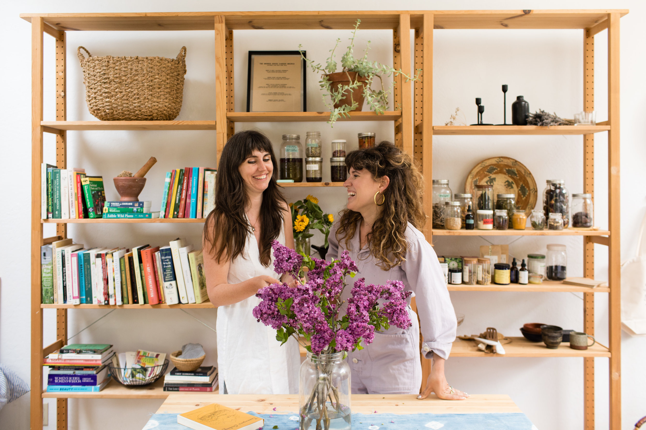 YOUR HERBAL GUIDES - Sarah Kate & SummerThe Herbalists behind The Kosmic Kitchen