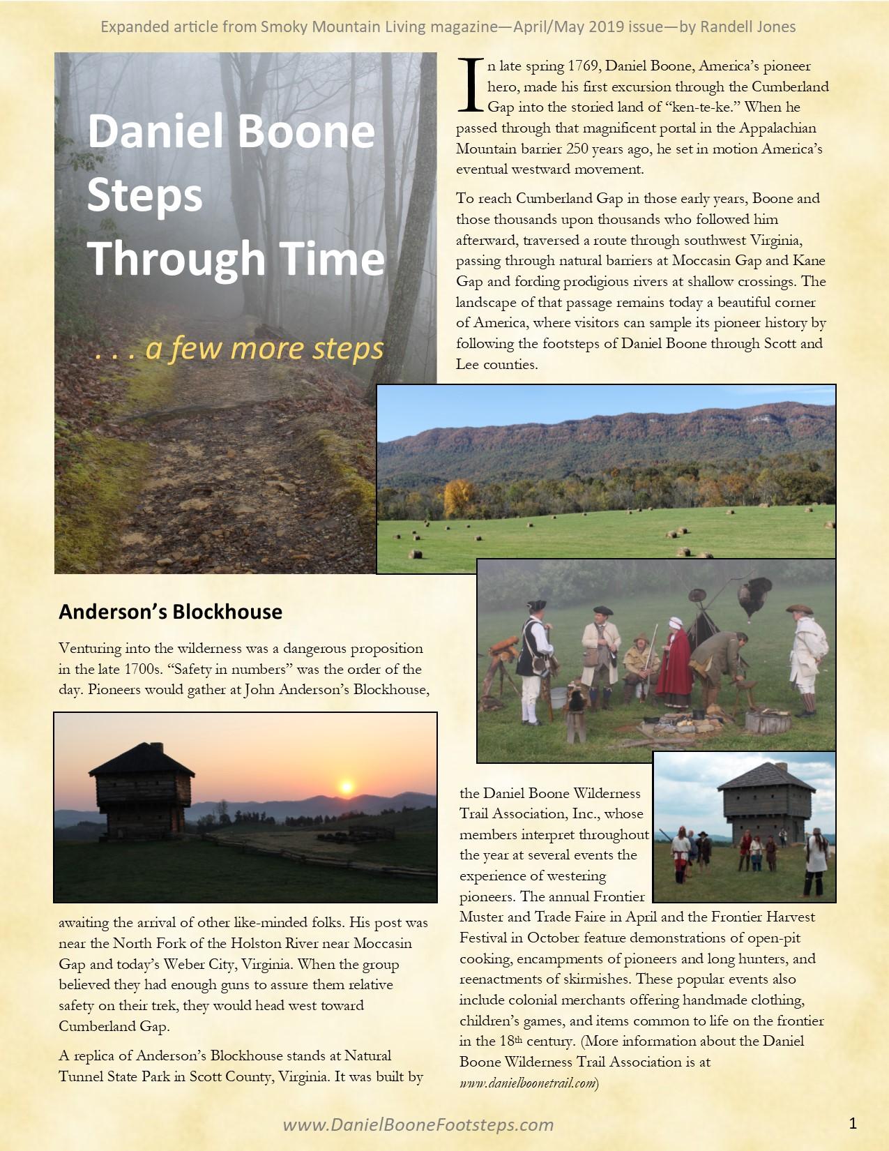 Daniel Boone Steps through Time - a few more steps - p1.jpg