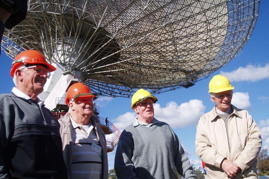 Ben Lan, Les Fellows, Neil Mason and David Cooke. Photo via ABC News