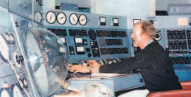 "Neil ""Fox"" Mason tracking the Moon landing in 1969"