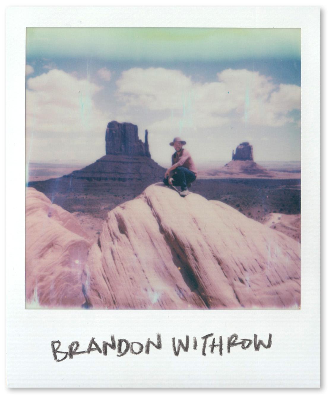 That's West Mitten Butte behind me! Monument Valley, AZ