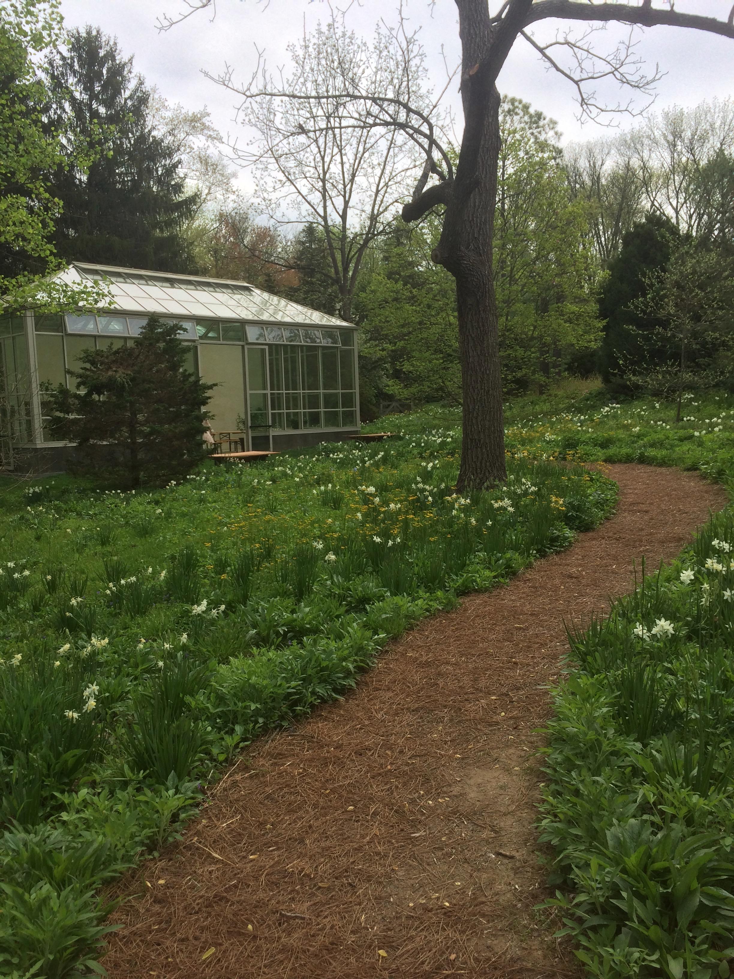 Chanticleer Garden Greenhouse