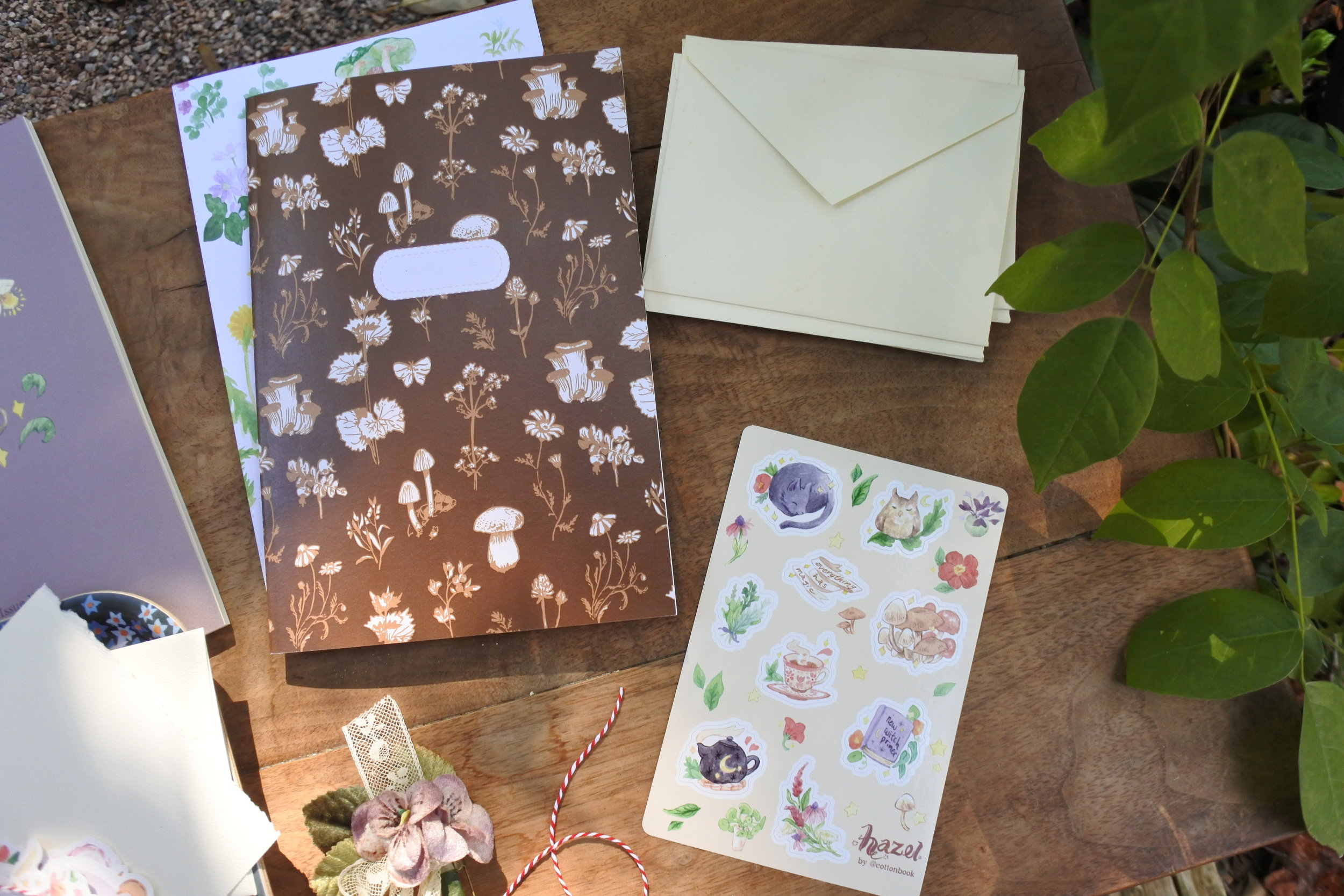 Cottonbook Stationery 2