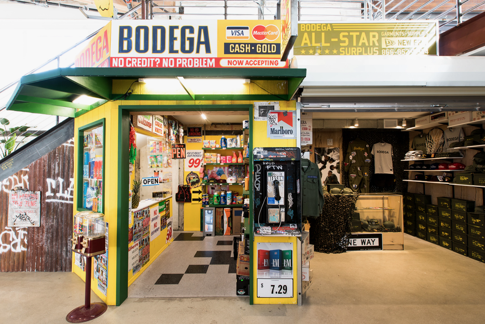 Bodega - A streetwear boutique recognized as one of the top in the world. Hidden in plain sight.https://shop.bdgastore.com/📍1320 E 7th St suite 150, Los Angeles, CA 90021