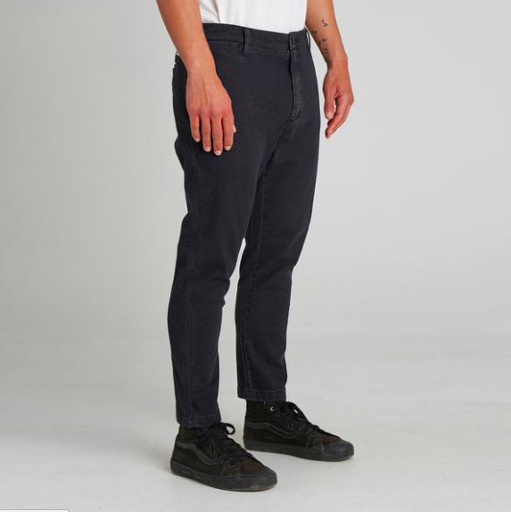 Formal Pant in Dirty Black from Banks Journal