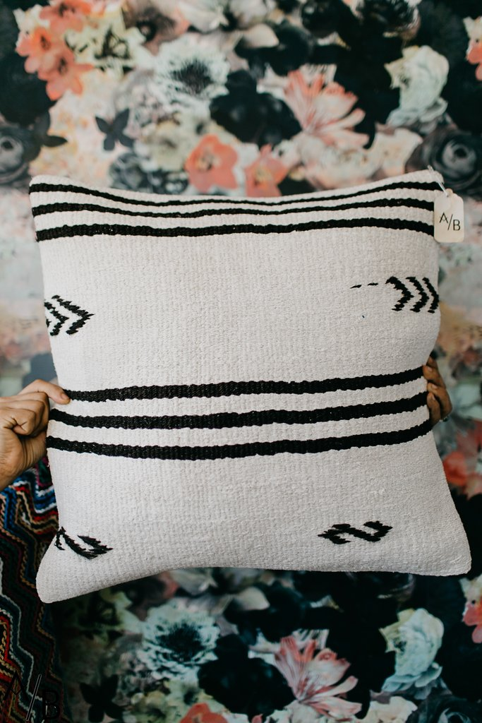 Hemp Tribal Pillow Arora Boheme